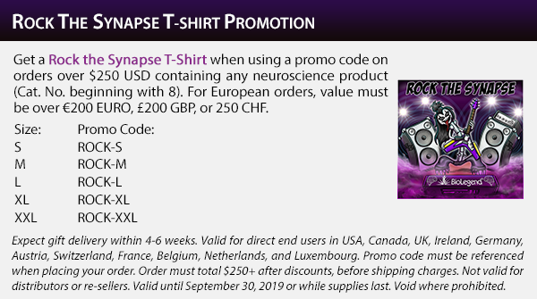 Rock the Synapse T-Shirt Promotion